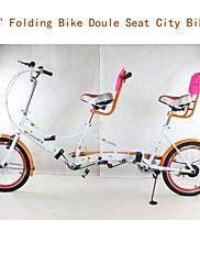 """20 bicicletas de doble asiento """"inch20"""" bicicleta plegable bicicleta plegable LQS ™ velo parejas bici bicicleta ciudad"""