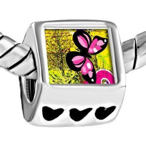 Pugster Photo Beads Heart European Fits Pandora Charm Bracelet Pugster. $12.49. Color: Silver. Metal: metal. Weight (gram): 4.3. Size (mm): 7.6*9.1*10.1