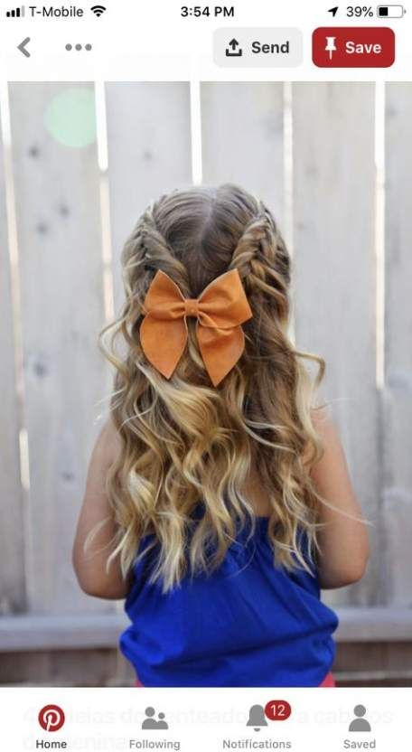 25 New Ideas for wedding hairstyles for kids coiffures