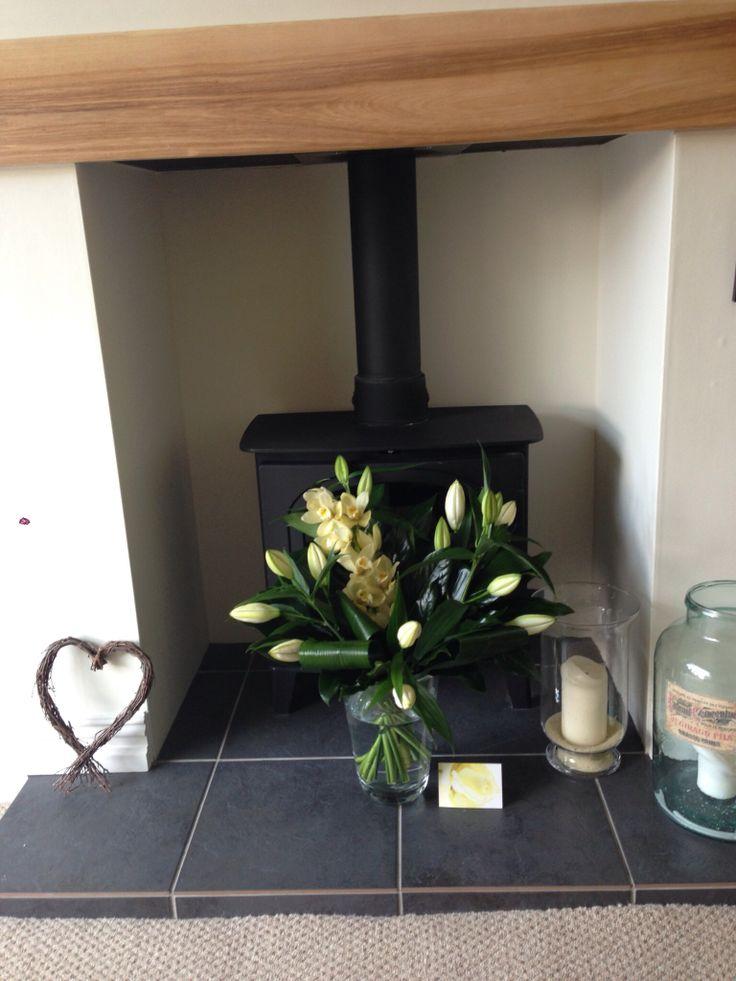 Hearth log burner