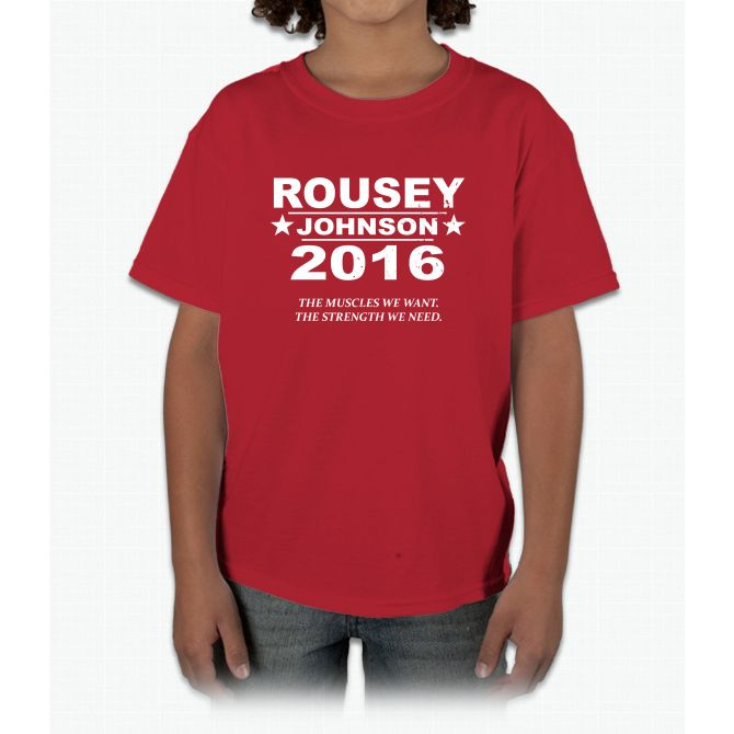 Rousey / Johnson 2016 Dwayne Johnson Young T-Shirt