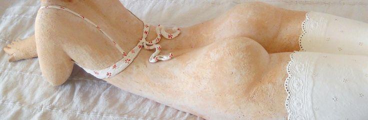 Zacchetti Catherine Sculptures femme ronde et sensuelle