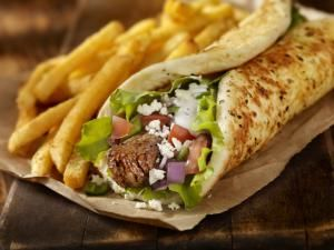 how to make a pitta wrap - Getty Images | Credit: Lauri Patterson