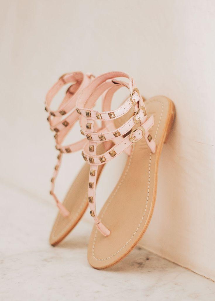 Persefone Heavenly Pink Sandal //