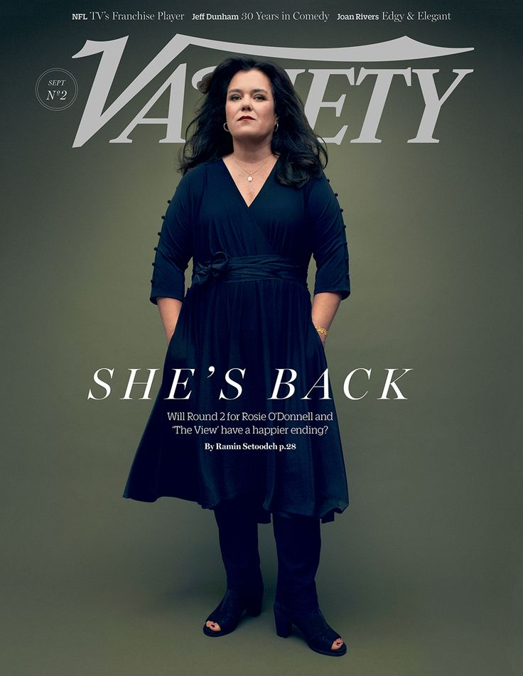 Rosie O'Donnell on Returning to 'The View' and Her Good Health | Variety. She's back!  So happy to see her again. :-)