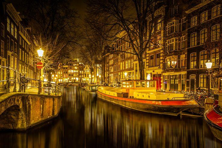Amsterdam in het licht