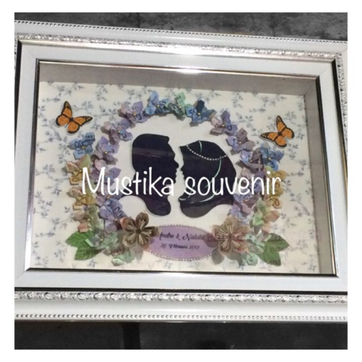 Mahar siluet bunga,order:082284057733