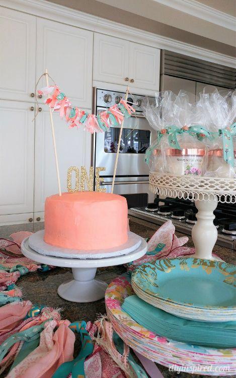 Easy DIY Boho First Birthday Party