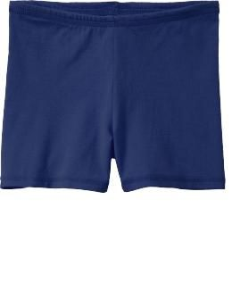 Girls Jersey Stretch Shorts - Will purchase a couple of these to wear under dresses/shorts in lieu of underwear - Rank #2