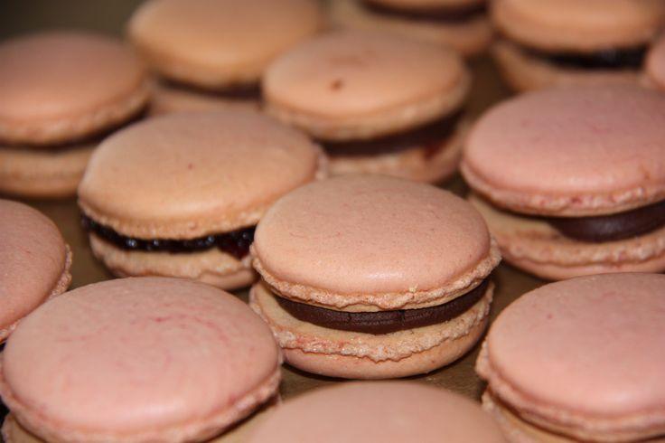 Selbstgemacht - Macarons mit Schokoladenfüllung