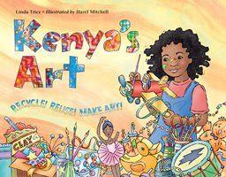 Always fun to receive the advance copy! 'Kenya's Art' by Linda Trice coming Jan 2016 from Charlesbridge Publishing. http://www.charlesbridge.com/products/kenyas-art
