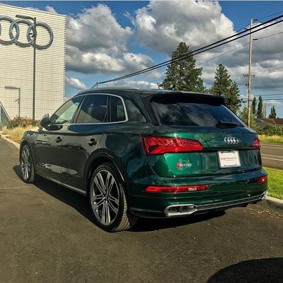 That Is A Rare Double: New SQ5 In Azores Green Photo