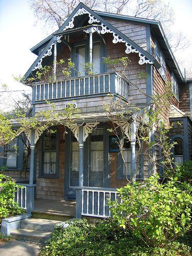 Gingerbread house, Martha's Vineyard, Mass. USA