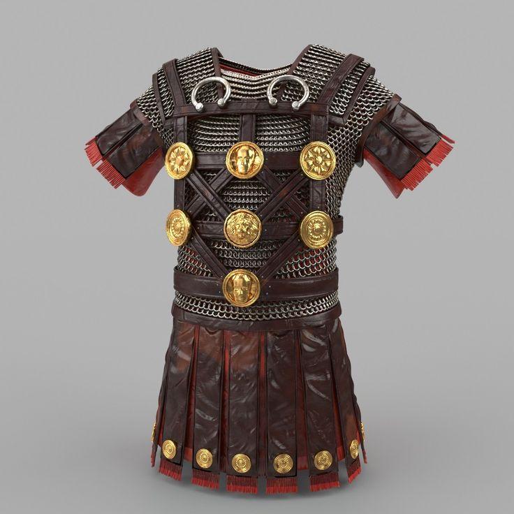 Roman Armor Max - 3D Model