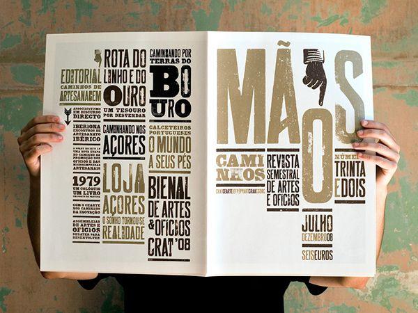 A newspaper format magazine for a national craft organisation
