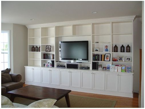 Diy Entertainment Unit Family Room Pinterest