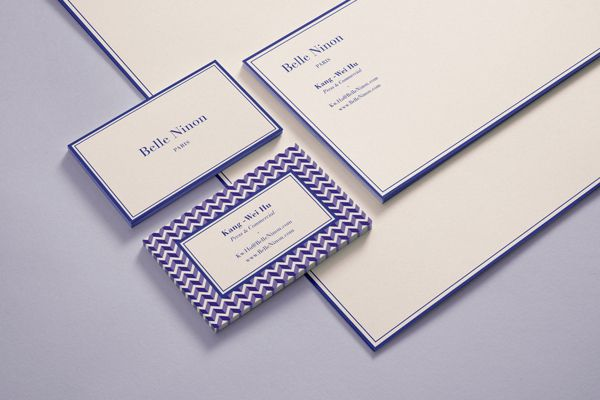 Belle Ninon - New Brand Identity System by Chateau Batard, via Behance