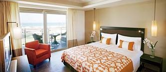 curtains,bedcovers,pillows,hotel CANDIA MARIS kreta greece