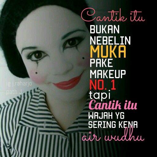 Makeup merek no 1. Muka merek no 10
