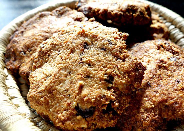 Amandel-pinda koekjes