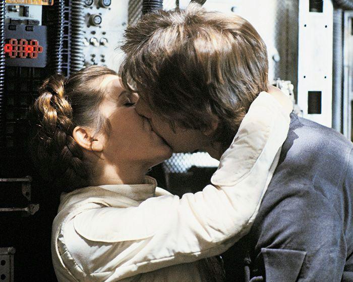 Han & Leia kiss ~ Star Wars #ESB   via fuckyeahhanandleia.tumblr.com