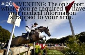 Equestrian Problems #26... take that football players!