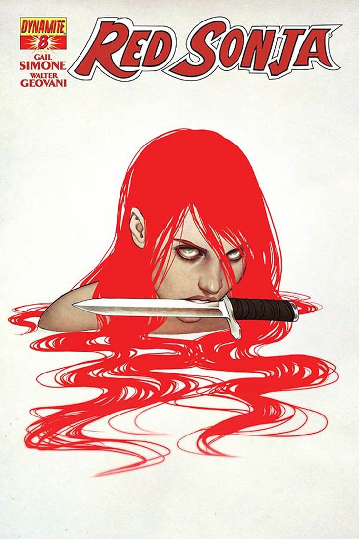 Red Sonja Vol 5 #8 Cover A Regular Jenny Frison Cover