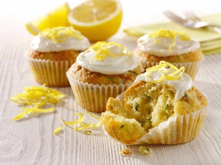 Lemon and Courgette Cupcakes Recipe: Veggie Magazine