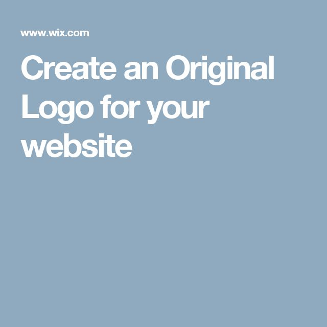 Create an Original Logo for your website