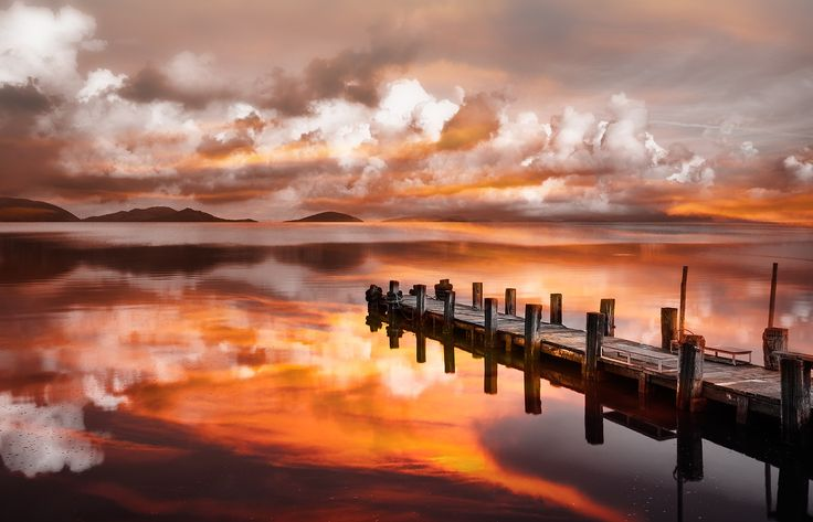 Sunset Pier by Marco Carmassi on 500px