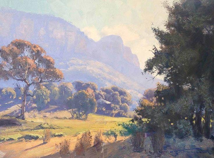 Warwick Fuller Australian Painter.