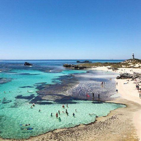 Rottnest has got the beach life down pat.. Hands up if you want to take your floaties here!  @yogawinetravel  #rottnestisland #rottnest #westisbest #westernaustralia #AustralianBrand #localbrands #floaties #float #pooltoy #inflatable #beaches #beach #ocean #FOMO #goodvibes #Australia #PerthisOK #Perthlife #amazingwa #potd #islandlife