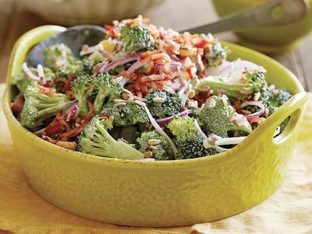Lightened-Up Creamy Broccoli Salad Recipe | Food Network Kitchen | Food Network