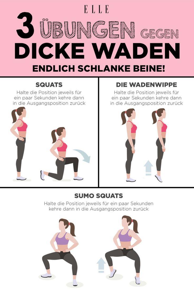 Dicke Waden? Die besten Übungen für schlanke Beine – ELLE Germany