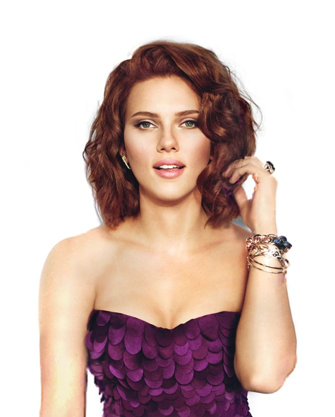 scarlett Johansson I really like this cut and color I might go for it!