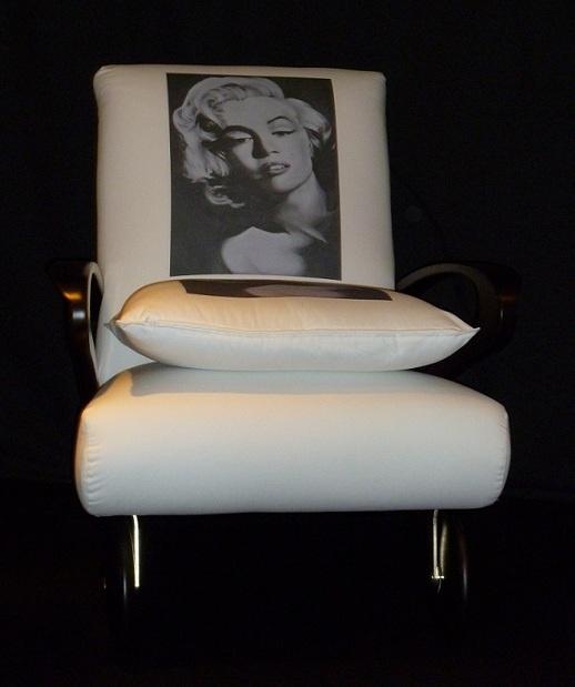 Rolling Marilyn Monroe by Mazzoli