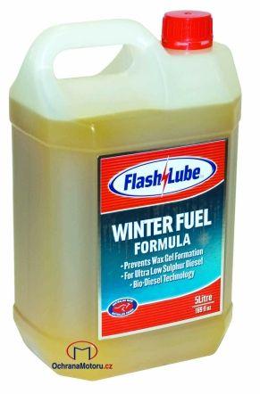5 litrů zimního dieselového aditiva Flashlube Winter Fuel Formula
