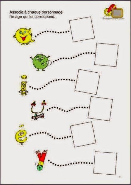 Voilà un fichier d'activités pour continuer à bien reconnaitre chaque alphas.    certaines fiches :  - montrent les alphas sous forme de ...