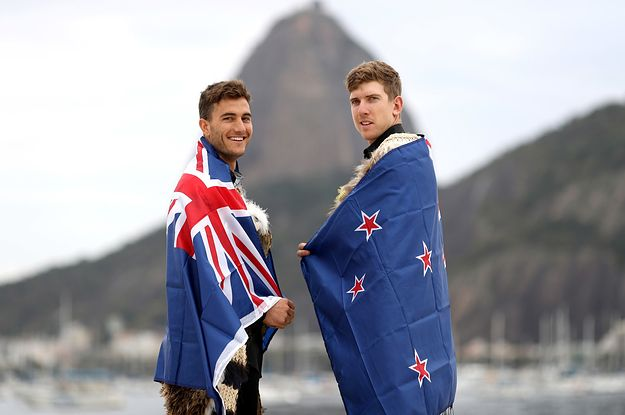 People On Twitter Are Drooling Over Team NZ's Olympic Flag Bearers