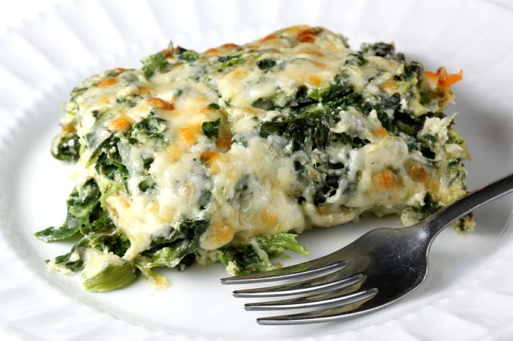 Spinach Gratin « Our Life in Food | Sides | Pinterest