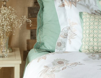 I pinned this from the Belle Epoque - Duvet Sets, Bed Linens, Pillows & More event at Joss and Main!