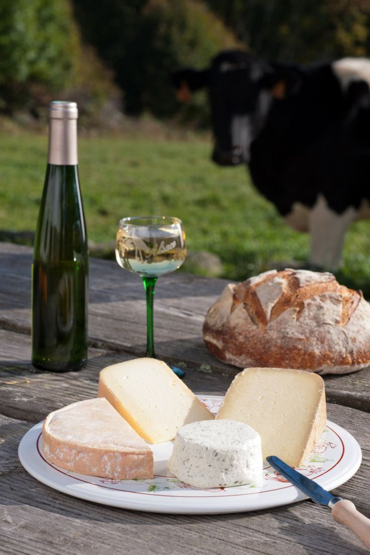 Manger fermier dans la Vallée de #Kaysersberg - #Alsace