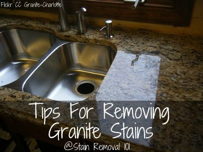 Tips For Removing Granite Stains From Countertops More