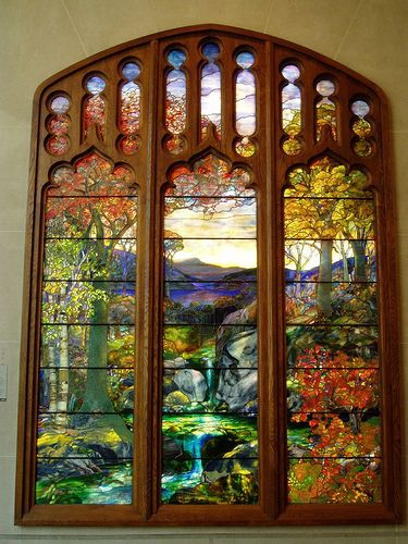 Tiffany Window, Metropolitan Museum of Art, NYC