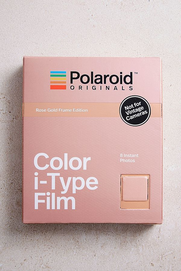 Slide View  2  Polaroid Originals Colour i-Type Rose Gold Film ... ee59064f33a9