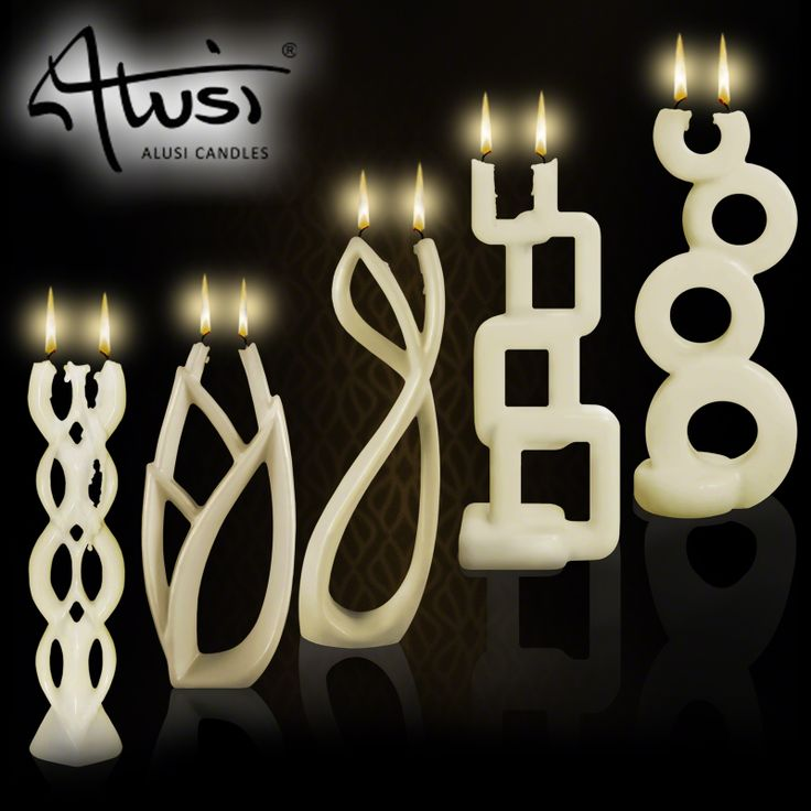 Alusi Candles are stunning sculptural candles that are almost too beautiful to burn. Crafted from unscented cream wax for unique decorative charm