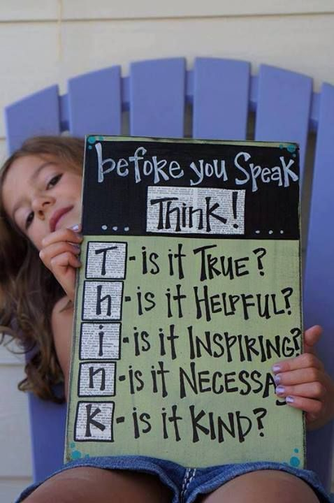 I believe this would be very helpful for older students. Teaches them to think before speaking, something they will need in the future!