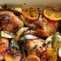 Запекаем курицу в духовке по-итальянски. Бесподобный рецепт лучших хозяек! Очень рекомендую.