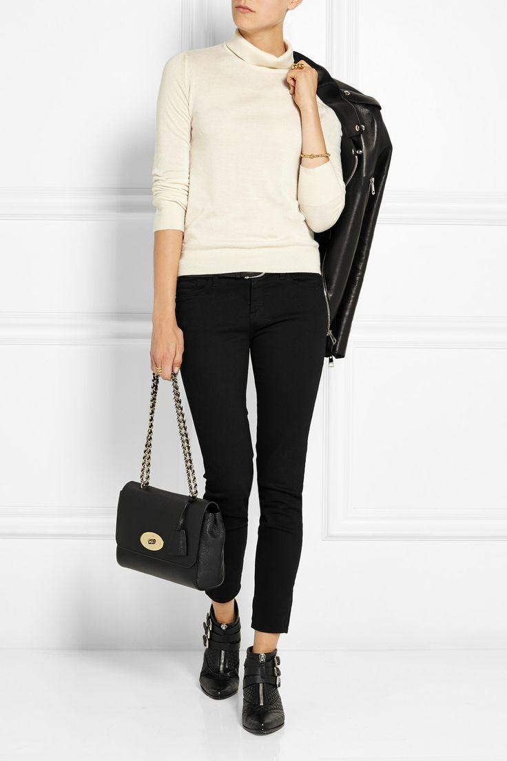 Mulberry | Sac porté épaule en cuir texturé Lily Medium