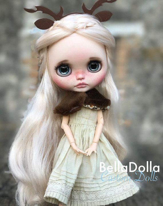 Bergamote: Blythe OOAK par BellaDolla 149 par BellaDollaCreations